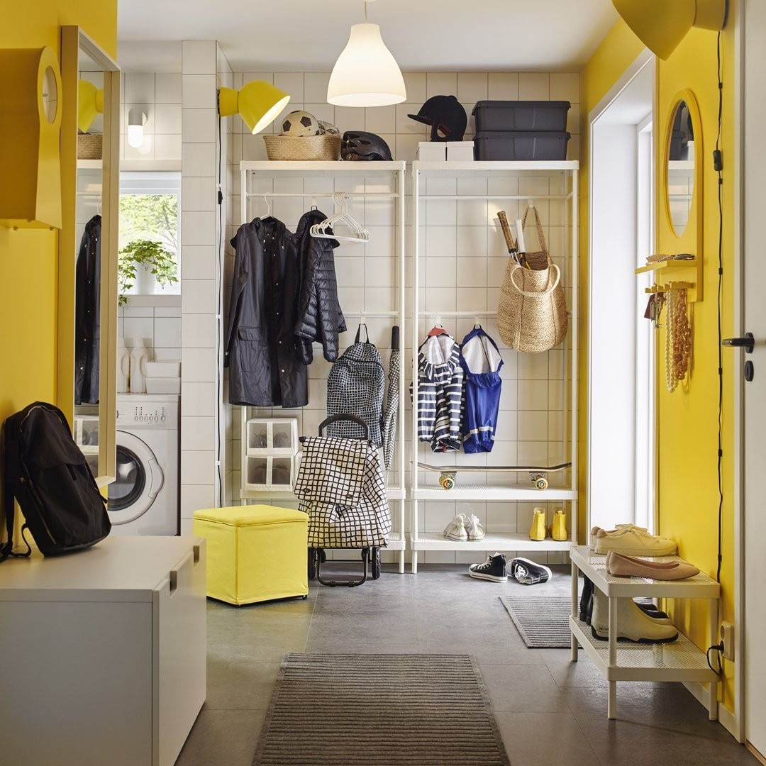 Ikea Usa On Instagram Keep Everyone S Belongings In One Neat