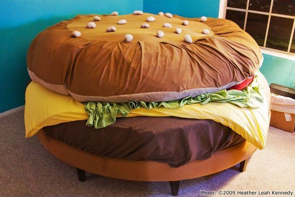 Hamburger Bed!