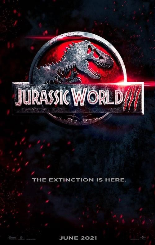 You Guys Have Probably Already Seen It But Heres The Absolutely Amazing Poster For Jurassic World Domini In 2020 Jurassic World Free Hd Movies Online Online Streaming