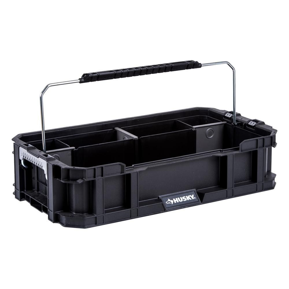 Husky 5 Compartment Connect System Tool Caddy Small Parts