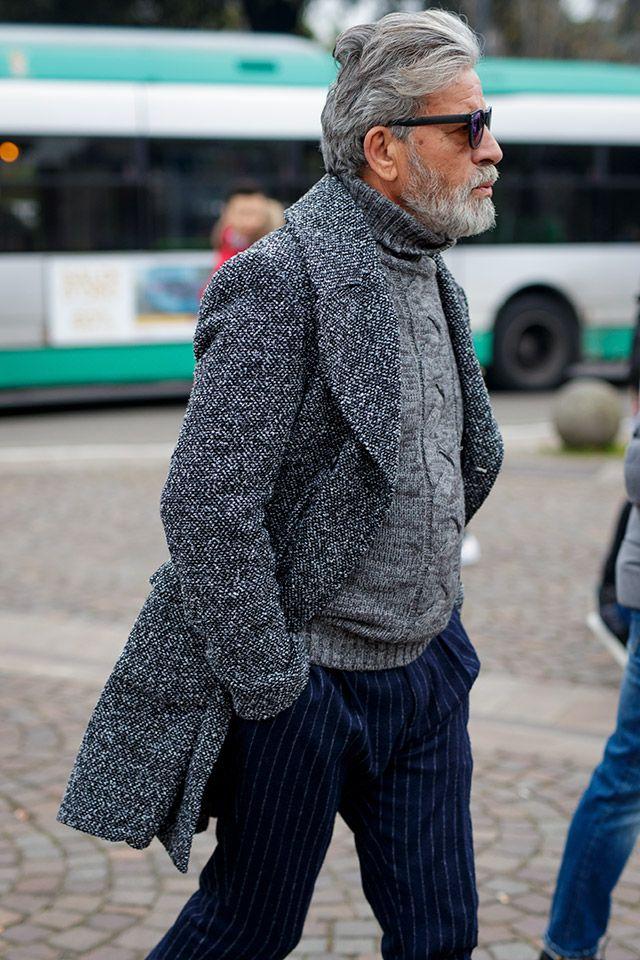 4f95cbaec0f8 Street Style Archives - Page 21 of 194 - Best Dressed Man on the Planet    Menswear   Pinterest   Ältere männer mode, Männer und Männer mode