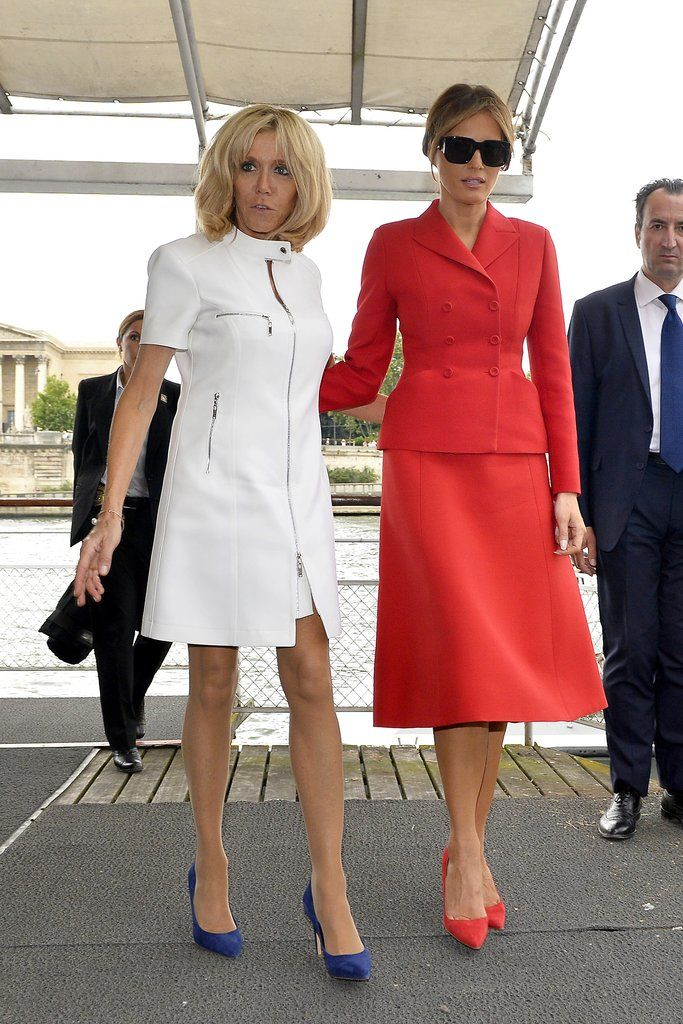 She Even Found A Dress Variation Of The Look Trump Fashion Milania Trump Style Style