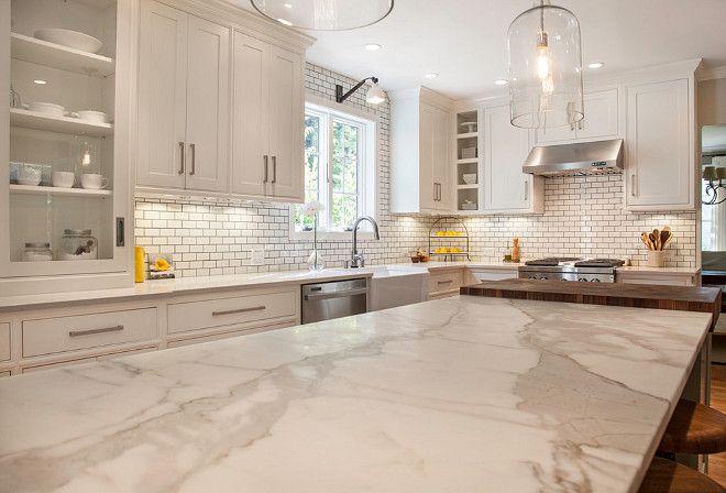 Unique Calacatta Gold Marble Countertops Trendy Farmhouse