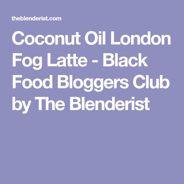 Black Food, Latte, Keto