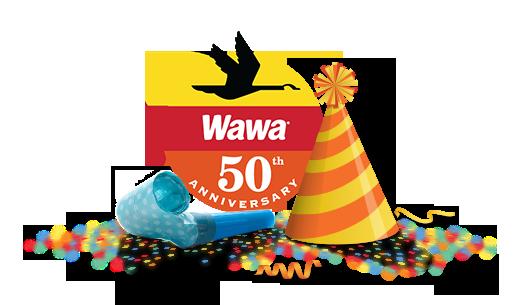 50 Years Counting Look Back On Wawa Memories Milestones Wawa Wawa 50th Anniversary Logo Milestones