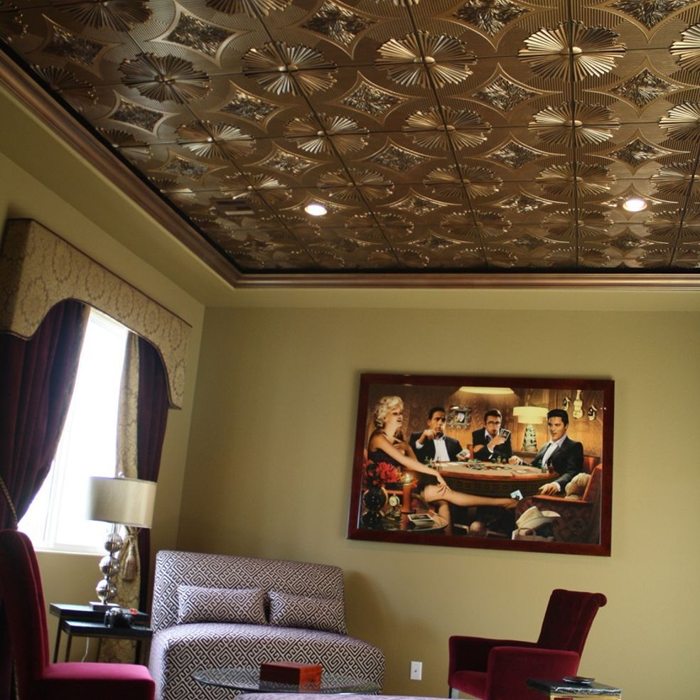 Cheap Decorative Ceiling Tiles Glamorous Decorative Ceiling Tileswhy Didn't I Think If This  Ceiling Decorating Inspiration
