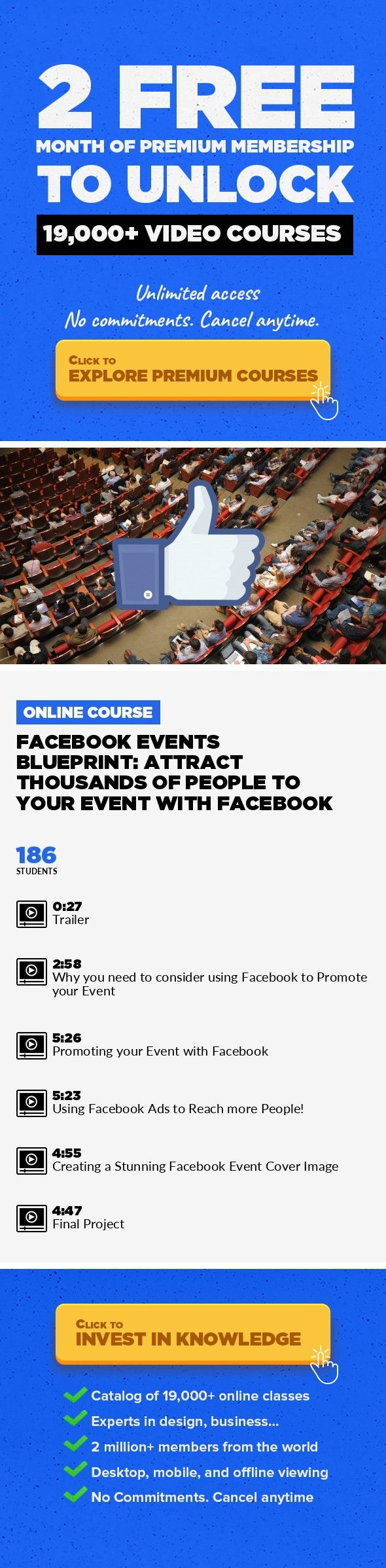 Facebook events blueprint attract thousands of people to your event facebook events blueprint attract thousands of people to your event with facebook marketing business facebook social media marketing facebook malvernweather Images