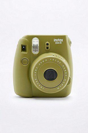 b10f5b1b1c830e Fujifilm X UO Custom Colour Khaki Instax Mini 8 Instant Camera - Urban  Outfitters