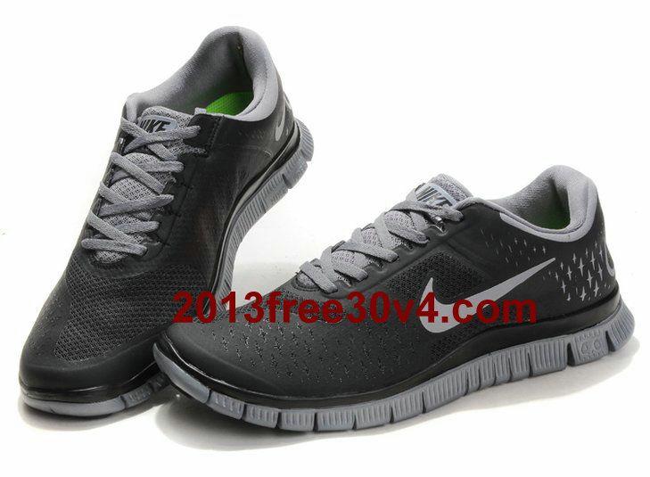 brand new 1f748 0d819 FV1665 Mens Nike Free 4.0 V2 Cool Grey Reflective Silver Black  Black   Womens  Sneakers