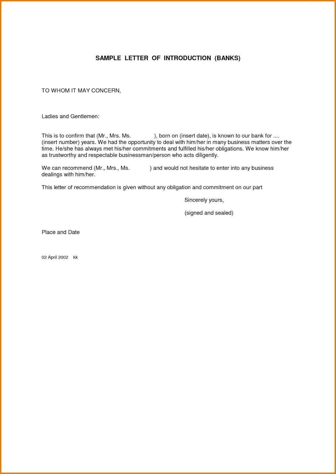 To Whom It May Concern Letter Format For Vehicle Sample Letter in