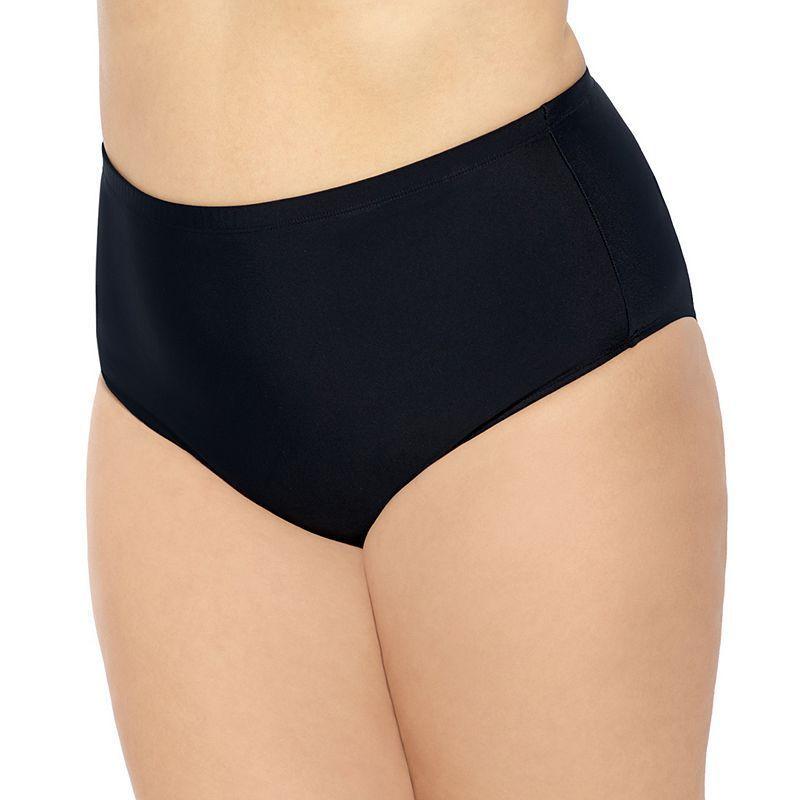 82aee23acd Juniors  Plus Size Costa Del Sol High-Waisted Bikini Bottoms ...