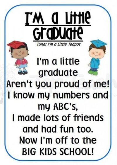 preschool graduation poem preschool poems quotes quotesgram by quotesgram 696