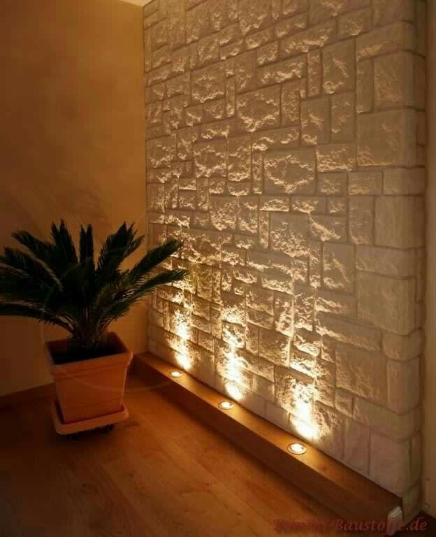 clairage maison pinterest murs de pierre mur et d co int rieure. Black Bedroom Furniture Sets. Home Design Ideas