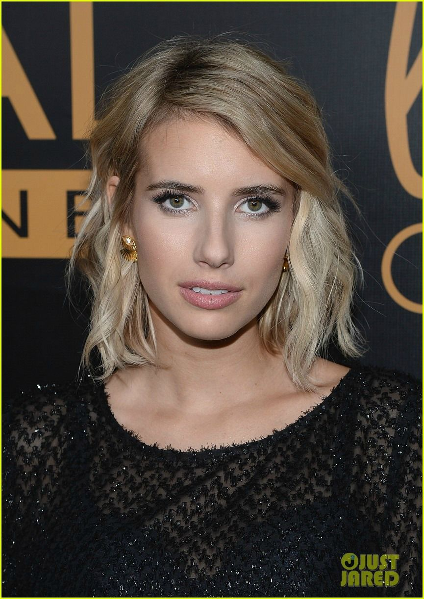 Lashed out ear jackets emma roberts makeup and hair makeup