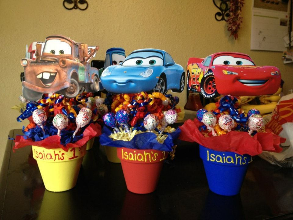 Made These For My Sons First Birthday Cars Theme Party