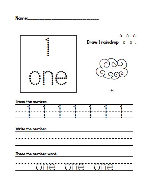 Kindergarten Number Tracing Worksheets 1 20 2 New Stuff May 2015