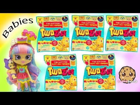 Unboxing 5 Twozies Baby Pet Animal Surprise Blind Bags