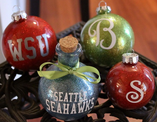 How To Make Personalized Christmas Ornaments Http Homestead And