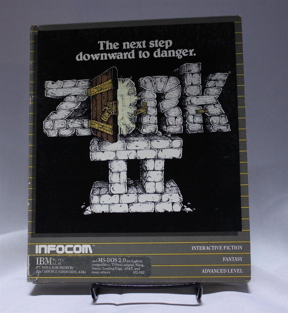 Zork Ii Pc Game Ibm Ms Dos 2 0 Original 5 25 Floppy Disc