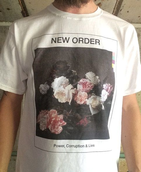 New Order Power Corruption & Lies Shirt by KidSisterEverything
