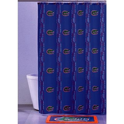 Florida Gators Shower Curtain Room Fla Outfits Gator Football