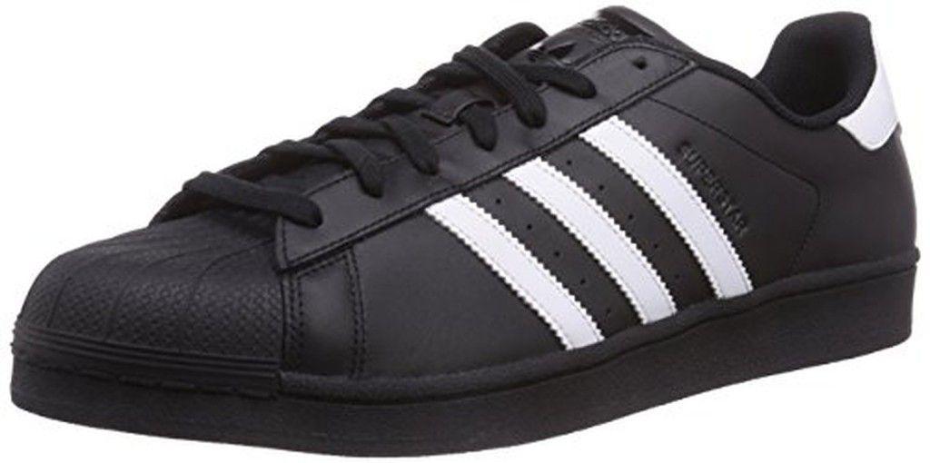 new product 9c713 1d00d adidas Originals Superstar Foundation B27140 adulte (homme ou femme)  Chaussures de sport, noir