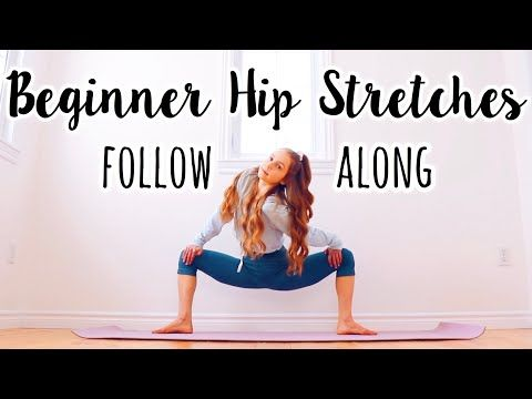 how to get flexible hips for beginners  youtube in 2020