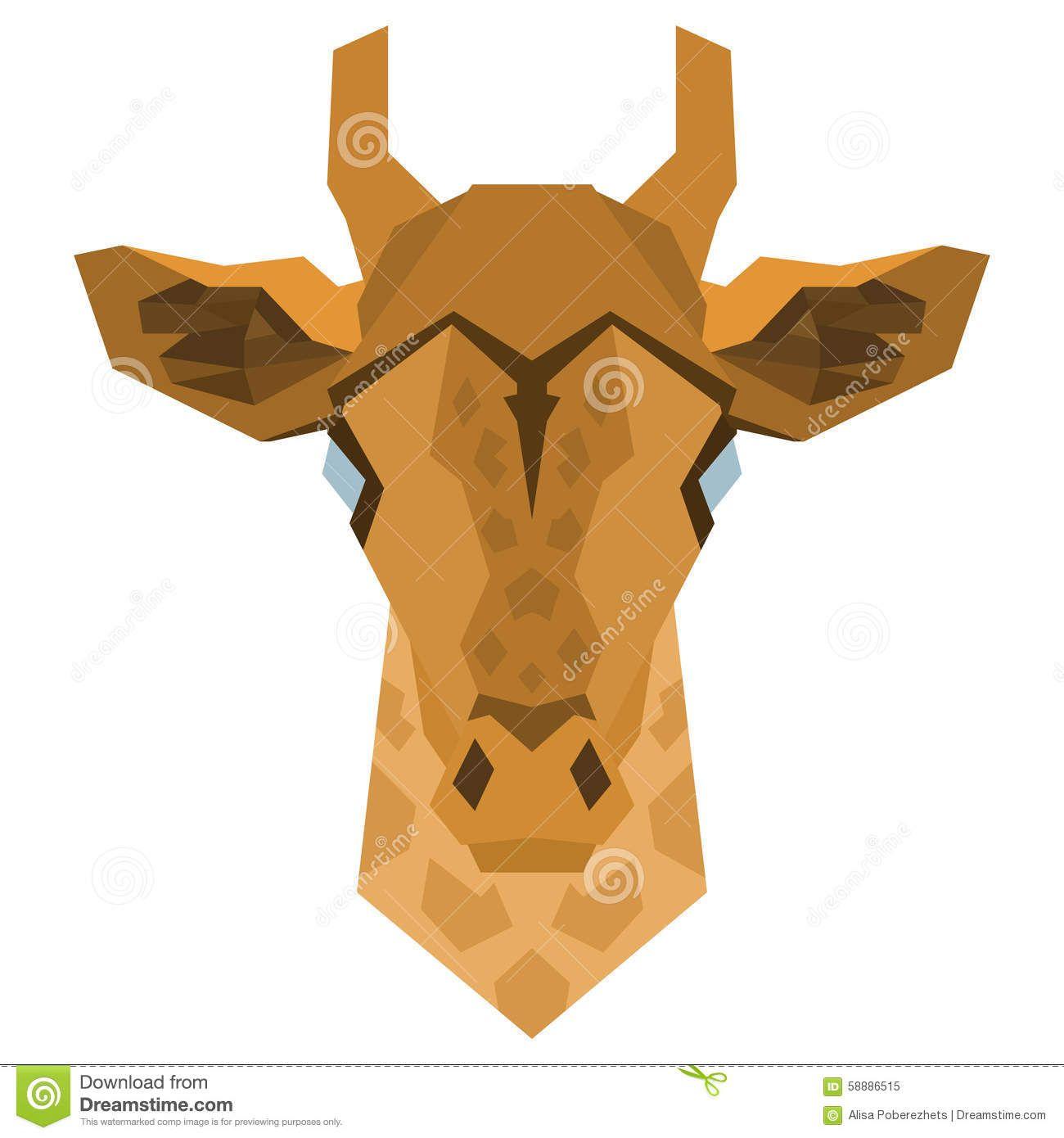 geometric giraffe sketch - Google Search