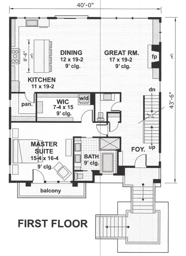 City Homes Design Build Llc House Plans Narrow Lot House Plans Modern House Plan