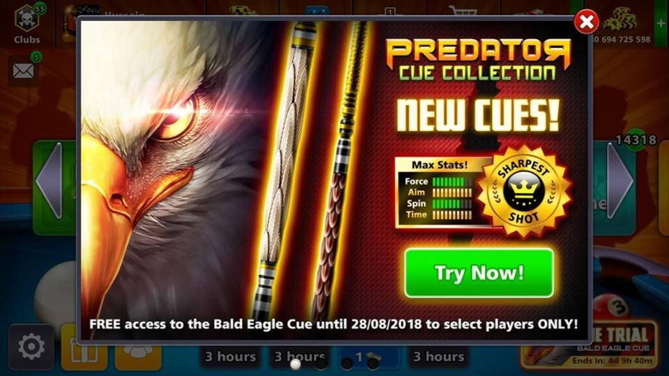 How To Get 8 Ball Pool Predator Cue For Free | 8 Ball Pool