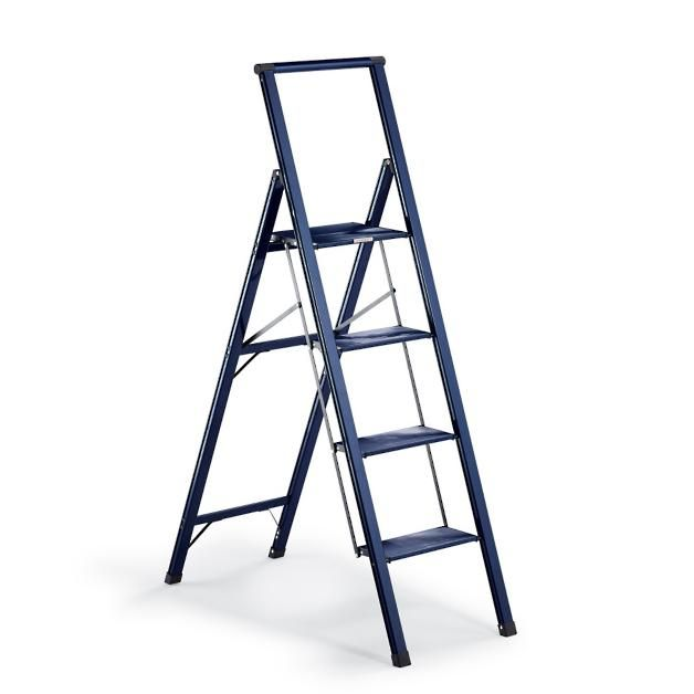 Ultralight Slimline 4 Step Ladder Step Ladders Kitchen Step Ladder 4 Step Ladder
