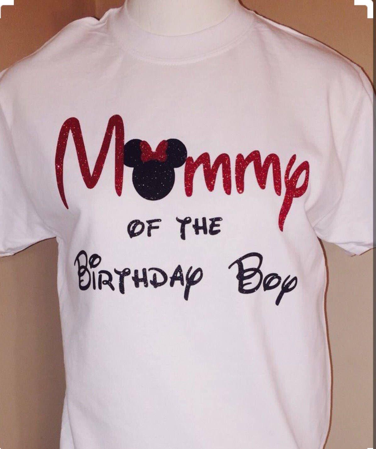 Disney Mom Birthday Shirt Etsy Listing
