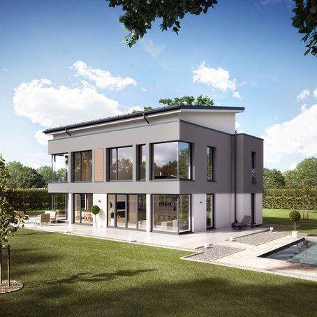 Plusenergie Villa Von Bien Zenker Haus Bau Zuhause3 De Architektur Haus Haus Architektur Fassade Haus
