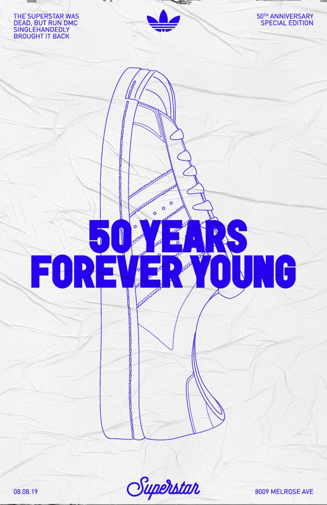 siguiente regalo Envío  Adidas Superstar 50th Anniversary / peopleofdesign | Adidas poster, Adidas  advertising, Adidas design