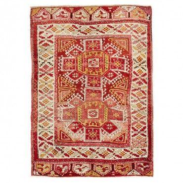 "abc vintage anatolian wool rug 4'9"" x 6'9"""