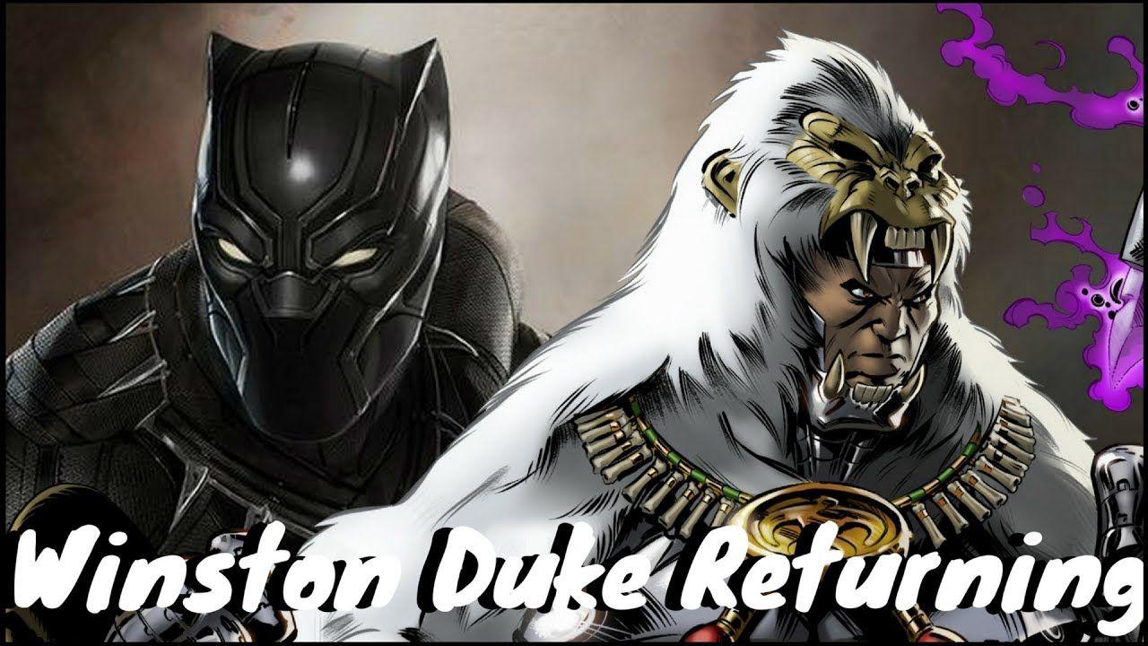 Marvel Black Panther Black Panther Avengers Infinity: Winston Duke Returning For