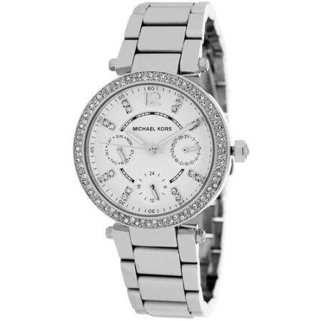 3d08fee4554c Michael Kors Women s Parker Watch Quartz Mineral Crystal MK5615 ...