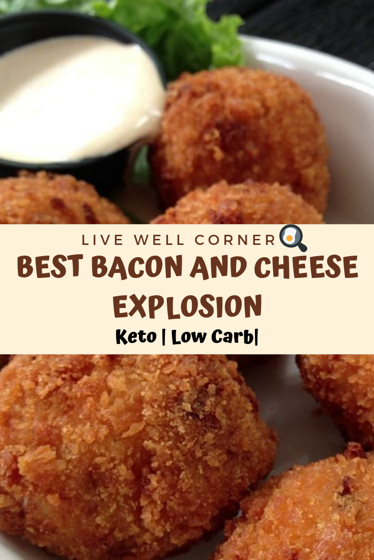 Best Keto BACON AND CHEESE EXPLOSION