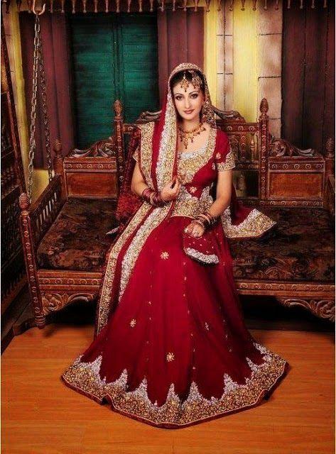 02e4ff391352 New And Stylish Wedding Dresses 2015 Pakistani