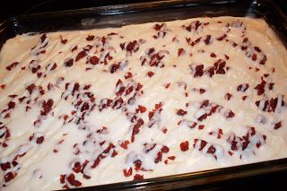 Our Sunday Cafe: Cranberry Bliss Bars! With a funny story. #cranberryblissbars