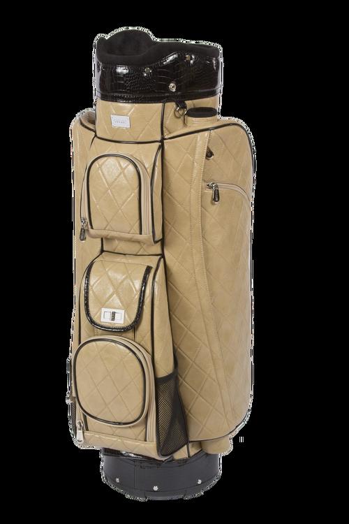 Cutler Sports Grace Quilted Beige Las Golf Bag