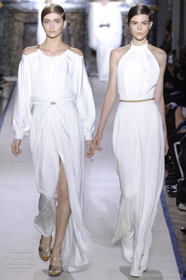 The one on the right...yves saint laurent fall 2011 2012