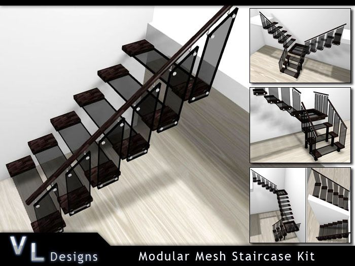 Best Stairs Modular Mesh Staircase Kit Modular Staircase 400 x 300