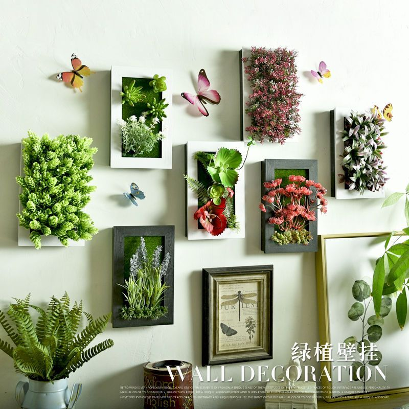 Buy Accueil Artificial Plant Hanging Photo Frame At Yesstyle Com