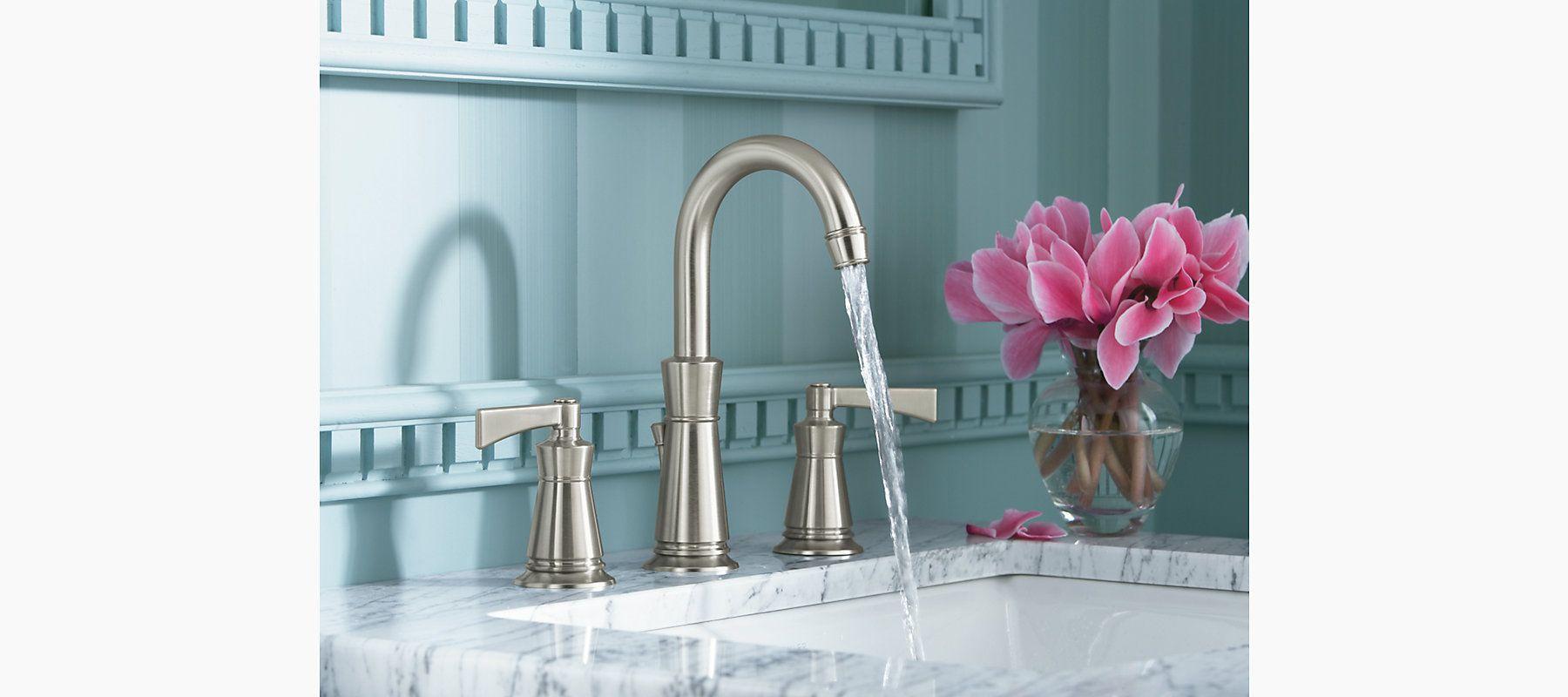 ... Kohler K-2356-8-0 Archer Self-rimming Bathroom Sink with 8 ...