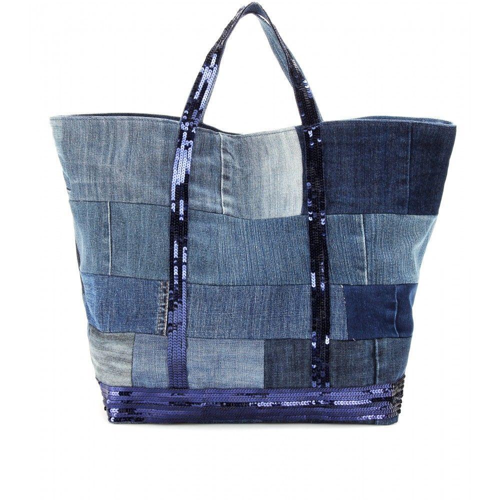 shopper cabas grand seen taschen pinterest jeans tasche jeans n hen. Black Bedroom Furniture Sets. Home Design Ideas