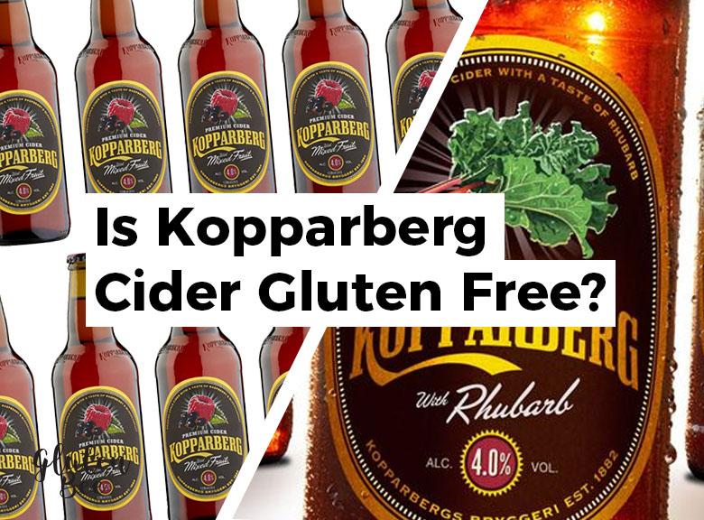 Is Kopparberg Cider Gluten Free? GlutenBee Cider