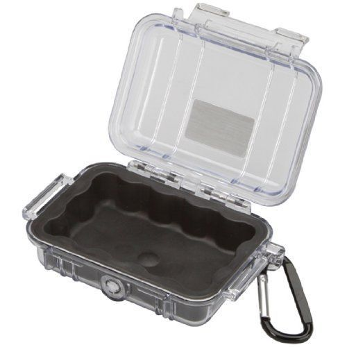 Pelican 1010 Micro Case With Clear Lid And Carabineer