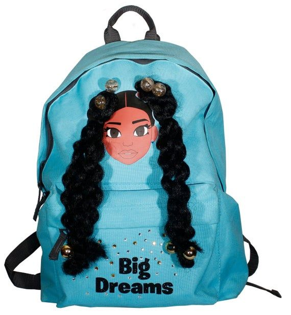 Big Dreams Black kids bags, Black designs, Back to school bags, Black excellence, Black Girl Backpac #excelwordaccessetc