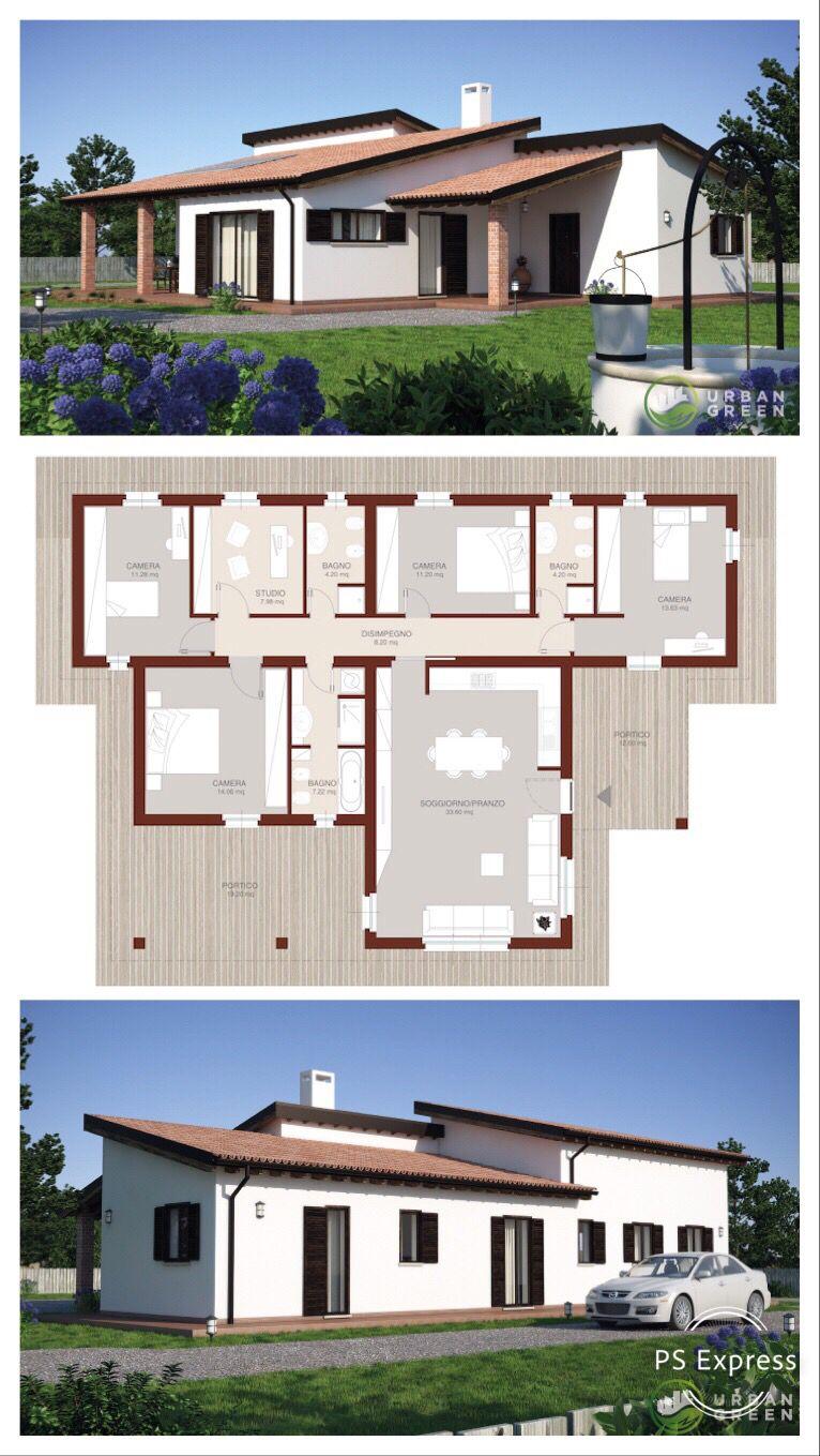 Casa In Legno Monopiano Urb26 Urban Green Case Di Legno